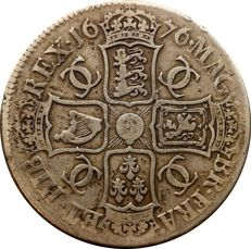 United Kingdom - Crown 1676 Charles II - silver