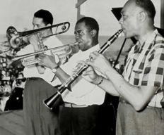 Unknown - Louis Armstrong and others - 1950's