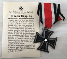 The Iron Cross 1939 2nd class