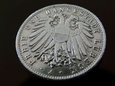 German Empire/Reich - Lübeck 2 Mark 1904 A