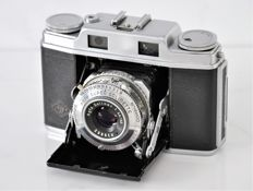 1953  AGFA  'Super-Solinette'  Folding Rangefinder Camera.
