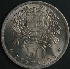 Portugal, Republic – 50 Centavos 1951