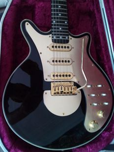 Gold Brian May Signature Special Electric Guitar From the Band, Queen