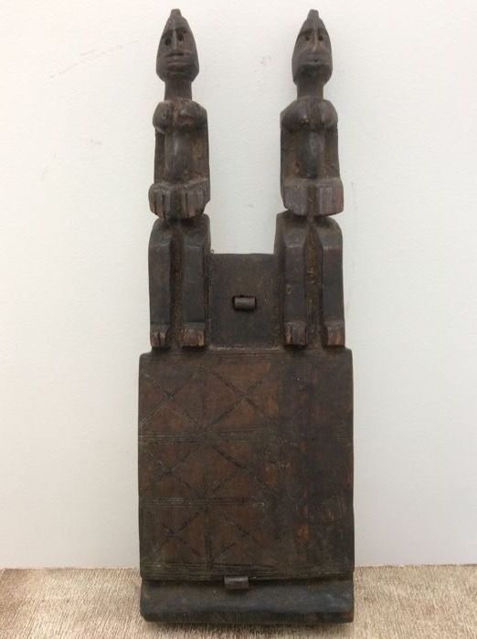 Granary door lock - DOGON  - Mali