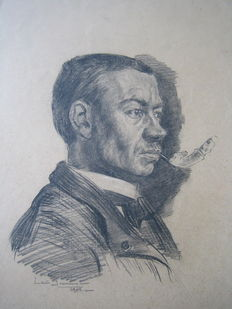 Louis Soonius (1883 - 1956) - Portret van man
