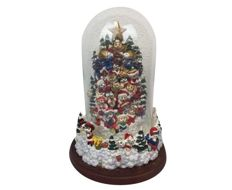"Franklin Mint music box with a Christmas tree ""Cat Claws"" with Bell Jar - USA - second half 20th century"
