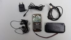 Nokia E71, with USB Cable, Earplugs, Charger, Protective Cover and Booklets