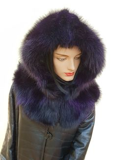 One marmot fur hood (Made in Italy)