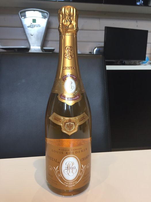 2000 Louis Roederer Cristal Champagne - 1 bottle (75cl)
