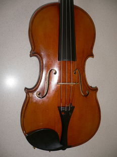 Beautiful German violin. Markneukirchen, Karl Bruckner, 1934