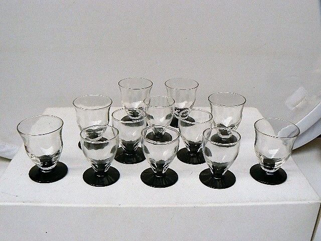 Bohemia - 2x 6 shot glasses