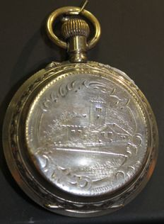 Bornand Geneve - Pocket watch - Dating from 1850-1900