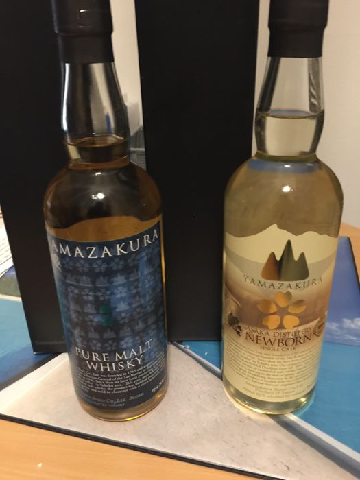 Yamazakura Pure Malt - Limited Edition and Yamazakura New Born - Single Cask No.6216