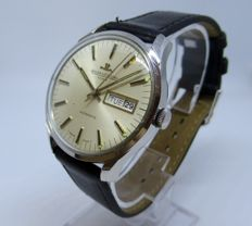 Jaeger LeCoultre Club Automatic Day Date Men's Watch, circa 1970