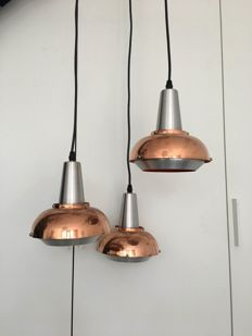 Lakro Amstelveen - pendant light with three chalices