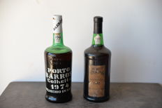 1974 Colheita Port Barros - bottled in 1982 & 1985 Colheita Port Poças - bottled in 1995 - 2 bottles overall