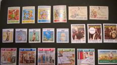 San Marino, 1990/2005 – Collection of stamps and sheets from the period
