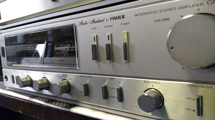 The Studio Standard by Fisher CA 120 amplifier and FM 120 L