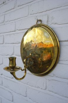 Brass Wall Sconce - Holland - Late 18th / early 19th century