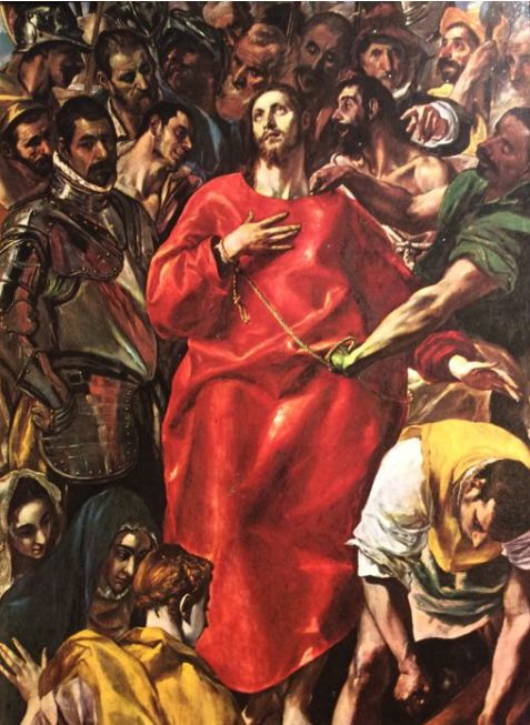 El Greco (1541-1614) The Disrobing of Christ/El Pillaging (El Greco)