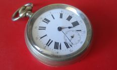 Rayway Regulator (signature on back) Men's pocket watch, early 1900s