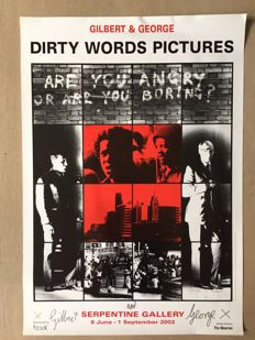Gilbert and George - Dirty Words