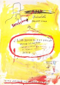 Jean-Michel Basquiat - Supercomb - 1988