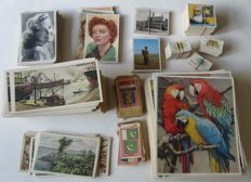 Large lot of collectable images/trading cards - Toffées Tréfin, Oldenkott's Tabak, Kwatta, Verkade and others