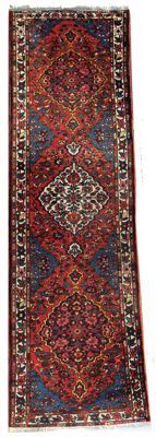 Beautiful Persian Bahtiari Runner c.  340x104 cm  circa 1950s