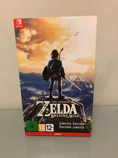 Nintendo Zelda Breath of the wild limited edition Switch new