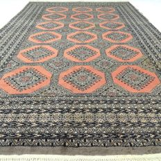 "Bukhara - 298 x 180 cm - ""Persian carpet in beautiful and used condition"" - With certificate"