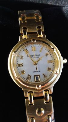 Krug-Baümen - Charleston 4 Diamond White Dial Gold Strap 5116DL - 女士 - 2011至现在