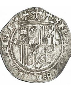 Spain - Catholic Monarchs - Real - Seville - silver