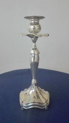 Silver Plated candlestick