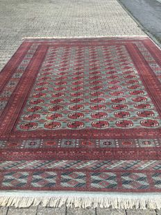 Oriental carpet Buchara - 100 % handwoven - value investment
