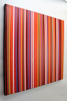 Alessandro Butera  -  Colored rows, red