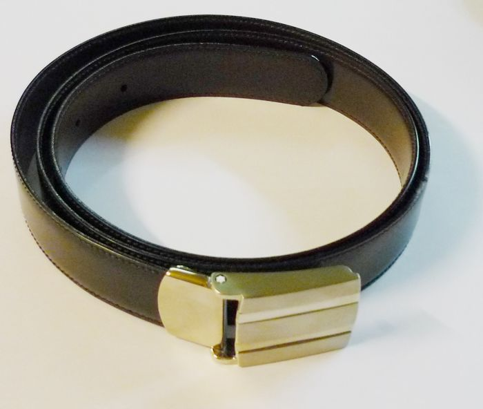 montblanc meisterstück leather belt