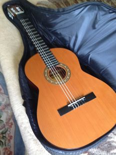 ALVARO classical guitar, model 20 original Espania Classic + softbag Canto etc,
