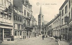 Belgium - Batch of 35 postcards - Arlon, Rebeq, Antwerp (including 1 card: weighing of grain), Liège