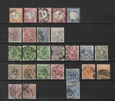 German Empire 1872/1945 - A small selection on stock pages
