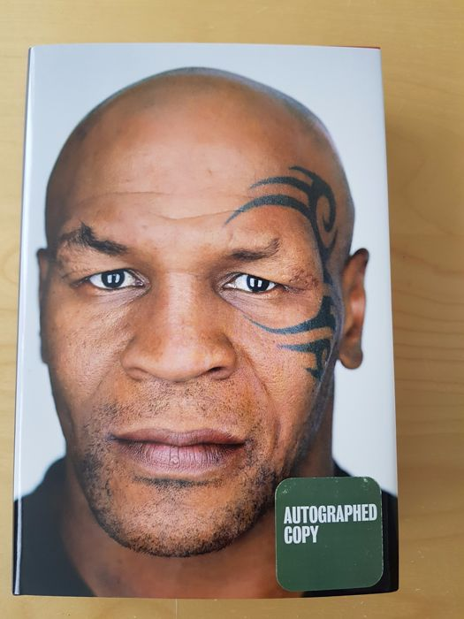 Mike Tyson Undisputed Truth 580 Pages Hard Cover Hand Catawiki