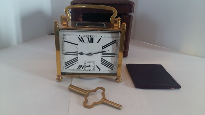 Carriage clock from the late 1800s/early 1900s, French manufacture