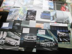 Automobile brochures (Lexus, 23 extensive brochures, 2000-2013)