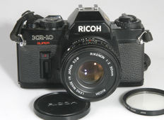 Ricoh KR 10 super with Rikenon 50 mm