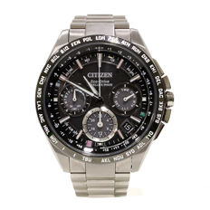Citizen Elegant Eco Drive Satellite Wave CC9015-54 - Wristwatch