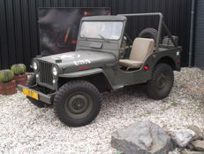 1951 CJ3A Willys Overland Jeep