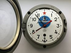 Original Russian CCCP Navy submarine clock - March 1989