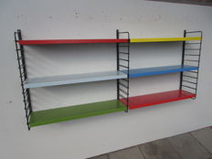 Manufacturer unknown - Metal wall rack in various colours