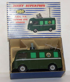 Dinky Supertoys - Scale 1/48 - B.B.C. T.V. Roving Eye Vehicle No.968