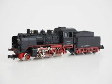 Minitrix N - 51202800 - Steam locomotive with tender series BR 24 of the DR